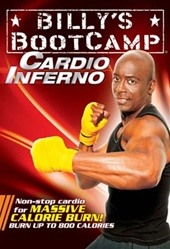 tae bo billy 39 s bootcamp cardio inferno dvd. Black Bedroom Furniture Sets. Home Design Ideas