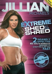 Jillian Michaels Extreme Shed Amp Shred Dvd